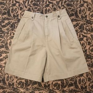 Liz Claiborne Khaki Walking Shorts